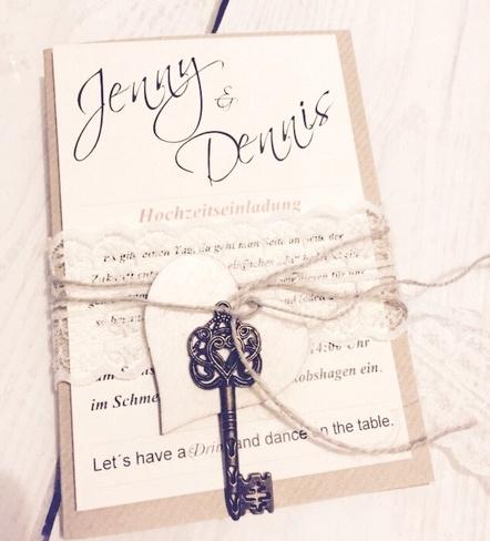 Hochzeitseinladungen Diy